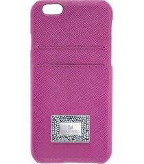 custodia smartphone con bordi protettivi versatile, iphoneâ® 7 plus, rosa