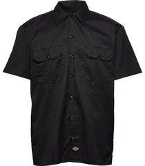 short sleeve work shirt kortärmad skjorta svart dickies
