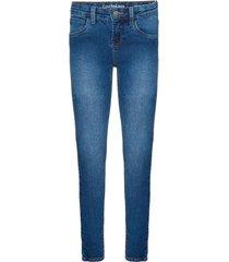 calça jeans five pockets jegging - azul médio - 8