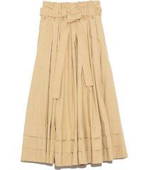 dylan skirt in khaki
