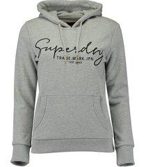hoodie alice script entry grijs