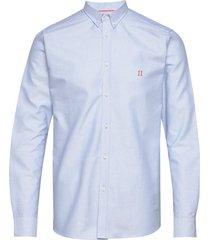 oliver oxford shirt overhemd business blauw les deux