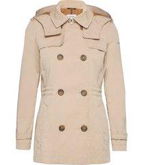 jackets outdoor woven trenchcoat lange jas beige esprit casual