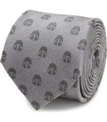 star wars men's mandalorian helmet tie