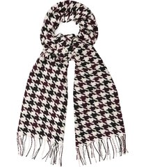 reiss renato - lambswool scarf in multi, mens