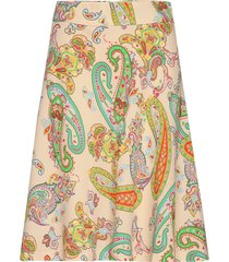 neo paisley stelly c knälång kjol multi/mönstrad mads nørgaard