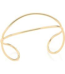 bracelete fio de tubo liso entrelaçado rommanel