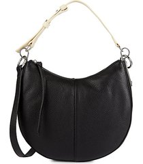 aisha leather shoulder bag