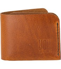 skórzany portfel zurych brązowy
