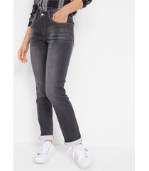 thermojeans met zachte voering, straight