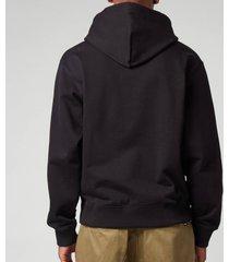 kenzo men's k-tiger classic hoodie - black - xl