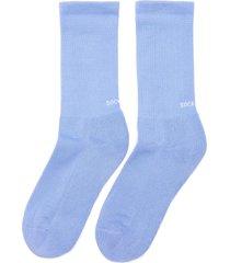 it's not blue' rib cuff tennis socks
