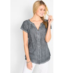 cold dyed blouse van katoen