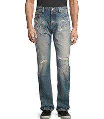 core mccoy cotton straight jeans