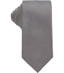 boss men's black t-tie