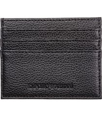 emporio armani medusa credit card holder