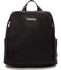 mochila negra tropea dianora