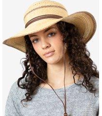 pistil women's sahara straw sun hat