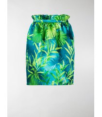 versace jungle print skirt