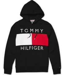 tommy hilfiger adaptive men's quinn hoodie with magnetic closure