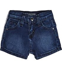 short shorts core denim guess