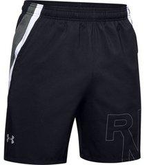 korte broek under armour launch stretch woven logo 7 inch short