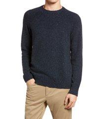 men's vince cashmere crewneck sweater, size x-large - blue