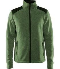 craft noble zip jacket heavy knit fleece men * gratis verzending *