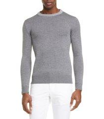 men's eidos wool crewneck sweater