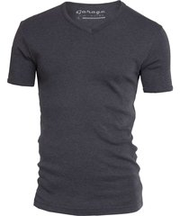 semi bodyfit t-shirt v-neck anthra mãªlã©e
