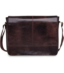 "mancini arizona collection 15"" laptop / tablet messenger bag"
