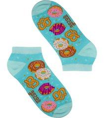 calcetín donuts menta corto gazoo