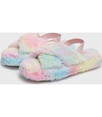 pantufla slipper multicolor lady genny