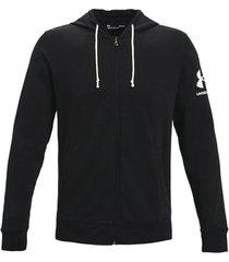 trainingsjack under armour rival terry full zip hoodie