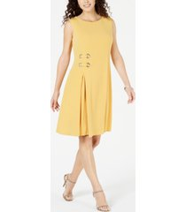 jm collection grommet side dress, created for macy's