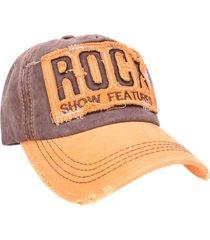 gorra amarilla vinson rock