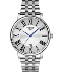 tissot t-classic carson premium bracelet watch, 40mm