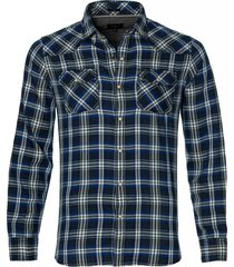 pepe jeans overhemd - slim fit - blauw