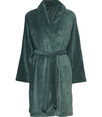 cornflocker fleece robe short morgonrock grön missya