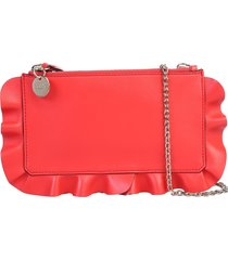 red valentino rock ruffles pouch