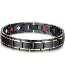 braccialetto magnetico con energia e sano in 361l acciaio inossidabile
