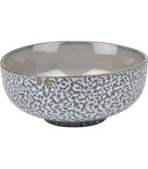 bowl craquelado cinza jogo c/4 peã§as tigela kasa ideia - multicolorido - dafiti