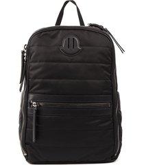 moncler thieghy black nylon backpack