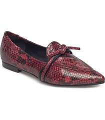 shoes loafers låga skor röd billi bi
