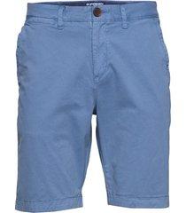 international chino short shorts chinos shorts blå superdry