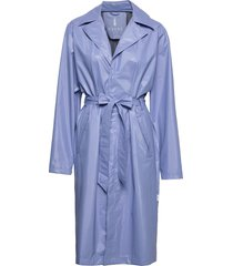 city overcoat regenkleding blauw rains