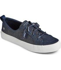 women's sperry crest vibe slip-on sneaker, size 5.5 m - blue