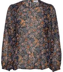 blouse long-sleeve blouse lange mouwen multi/patroon gerry weber