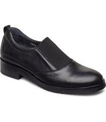 shoes - flat - with elastic loafers låga skor svart angulus