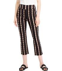 inc printed skinny crop pants, created for macy's